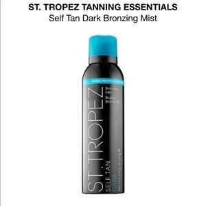 St Tropaz brand new dark spray tan mist self tan